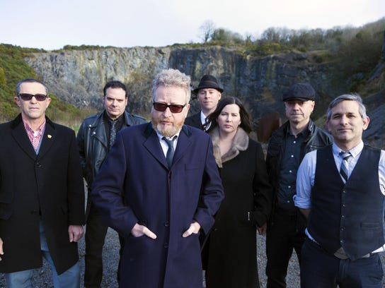 Flogging Molly, above, plays with Dropkick Murphys