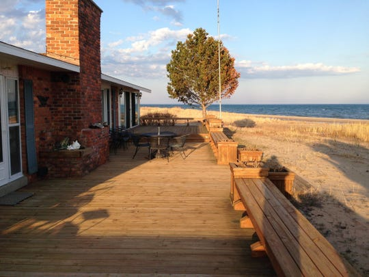 Land's End, Au Sable Point Beach cottage, Lake Huron, in East Tawas.