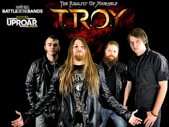 T.R.O.Y is the first band to be announced on the Rockstar Energy Uproar tour starting late this summer.