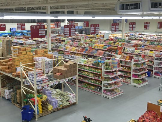 168 Asian Mart occupies a 38,000-square-foot space
