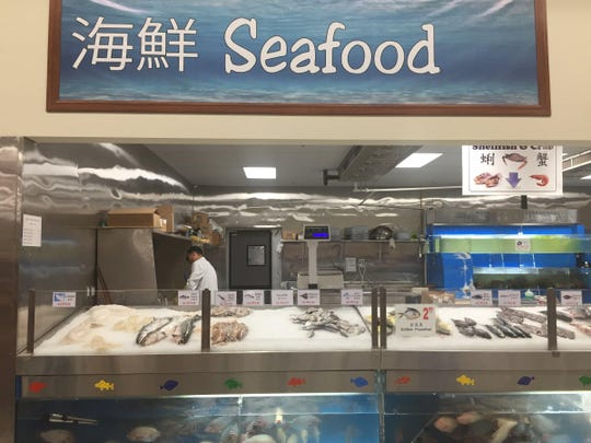 168 Asian Mart has a full service seafood counter that
