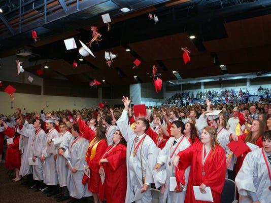 Utica High School Graduation
