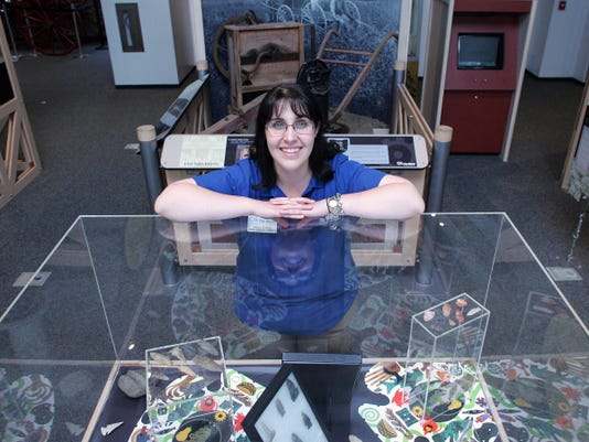 Allison Galbari is the museum experience coordinator at The Works in downtown Newark.