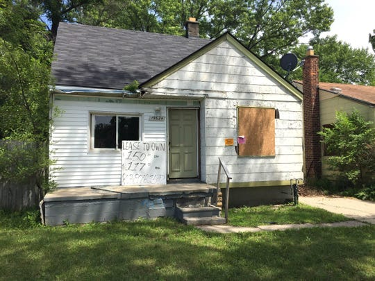 This house on Bloom Street in Detroit is listed for