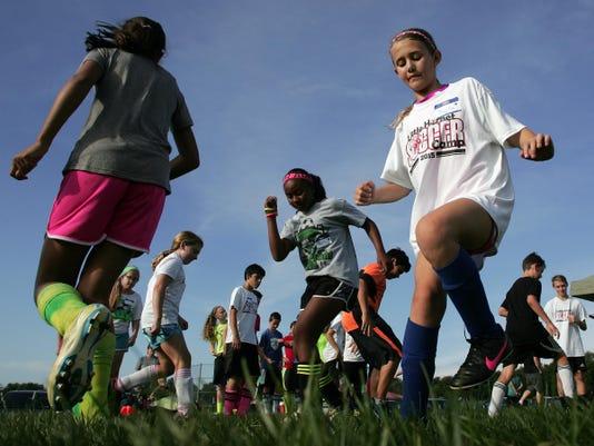 Licking Heights' Little Hornet Soccer Camp