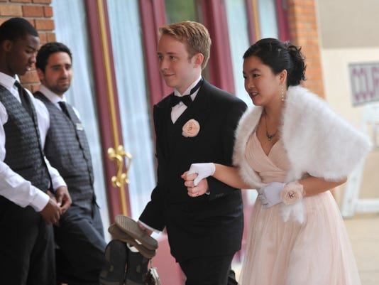 Spring Grove Area High School students attend prom at The Valencia in York on Friday, May 15, 2015.