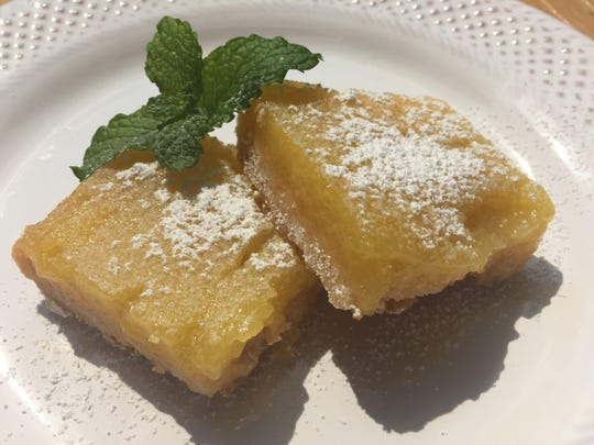 It's easy to make your own lemon curd for the Lemon Bars with Olive Oil and Sea Salt.