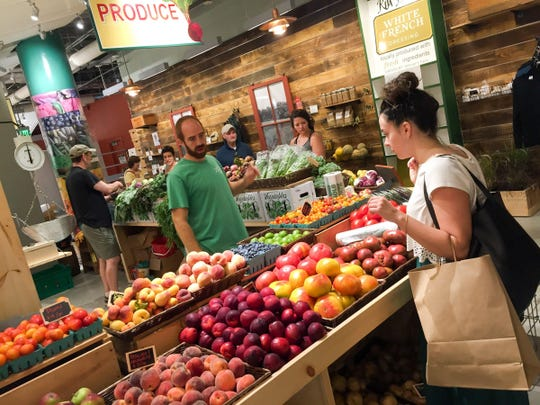 The Boston Public Market is the only year-round indoor market and features New England products and produce.