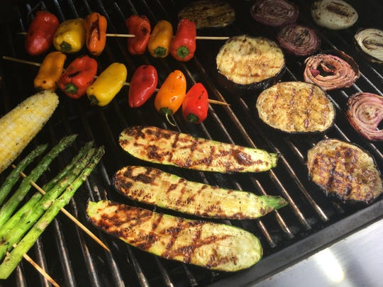Flavors can become sweeter or more intense when summer vegetables are kissed with the heat from a grill.