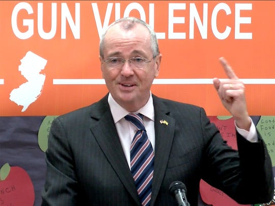 New Jersey Governor Phil Murphy wants to make New Jersey No. 1 in combating gun violence.