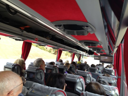 Big bus tours of Turkey are common, taking tourists to major attractions that are far apart.