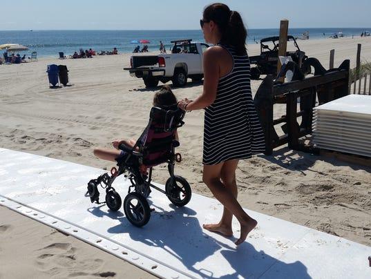 Disabled beach access