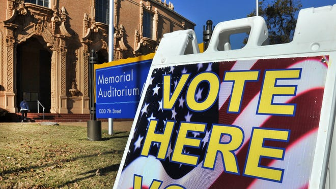 Early voting for the May city bond election will be April 23 through May 1.