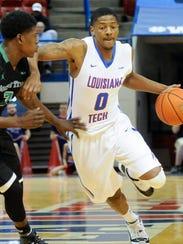 Louisiana Tech senior Alex Hamilton scored the game-tying