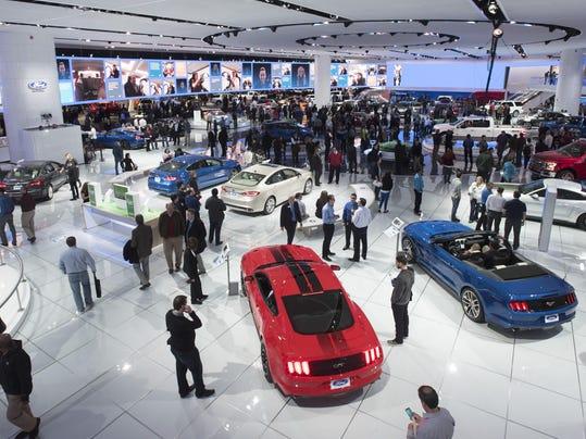 file-- 2017 detroit auto show