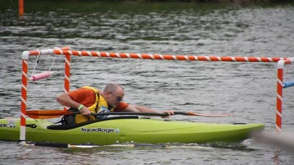 The Kayak Race on Lake Eureka will feature water obstacles, and is open to spectators on Aug. 22.