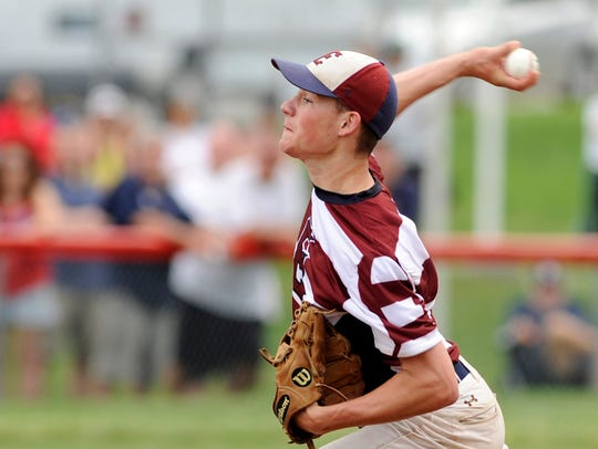 A sophomore, Jesse Barbera scattered five hits as Eastern