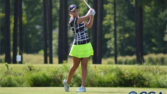 North Buncombe junior Callista Rice is undefeated in three golf matches so far for the Black Hawks.