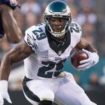 Eagles running back DeMarco Murray (29) was one of the NFL's prized free agents signed in the offseason. He is the reigning NFL Offensive Player of the Year.