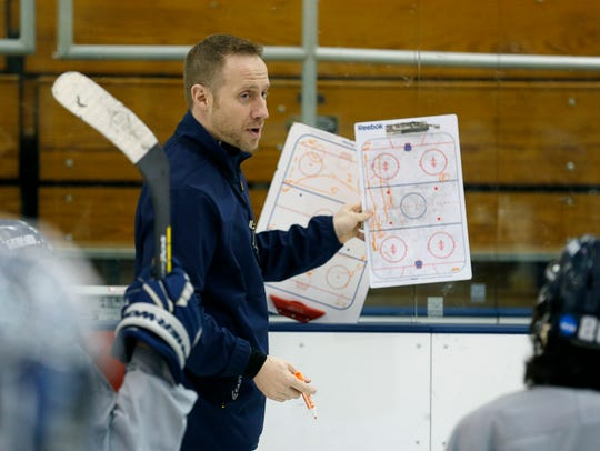 Coach Chris Schultz, in his 13th season, has led Geneseo to its third Division III Frozen Four in six seasons. In 44 seasons of the program, the Ice Knights have had eight teams win at least 20 games and Schultz's teams have done it four times.