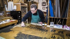 Rescue mission: Gordy Fine Art team helps preserve bits of history