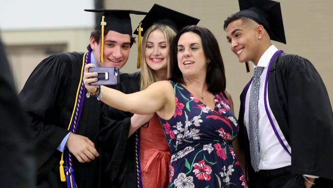Alexander W. Dreyfoos School of the Arts High School Graduation at The South Florida Fairgrounds, Friday, May 17, 2019.