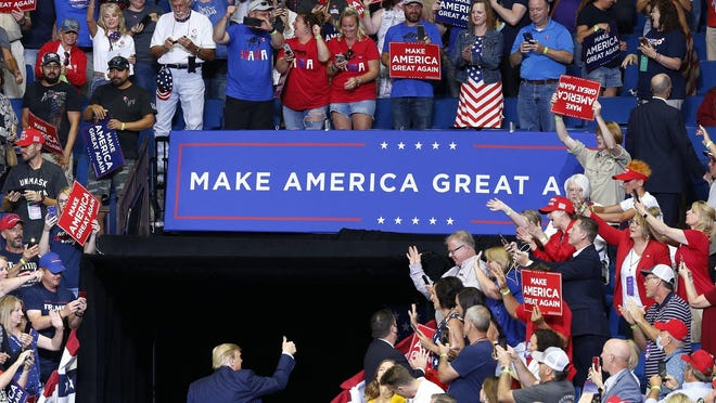 In Tulsa on June 20,  a large crowd of Trump supporters gathered, mostly without masks, in a setting designed to spread the coronavirus, Paul Krugman writes.
