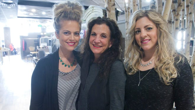 From left, Tribute Salon stylist/manager Jessica Antcliff, owner Denne Drewno and stylist/manager Christa Lee are among the Brighton salon's staff dedicated to an experience above that of conventional salons in the area.