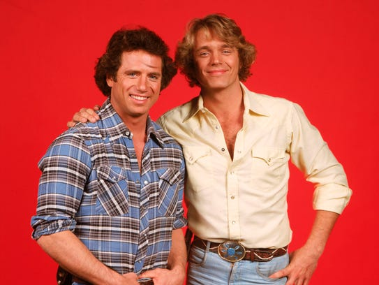 Tom Wopat, left, and John Schneider outwitted local