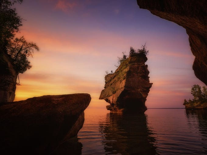Scenic, Seasons, and Landscapes winner: Apostle Islands