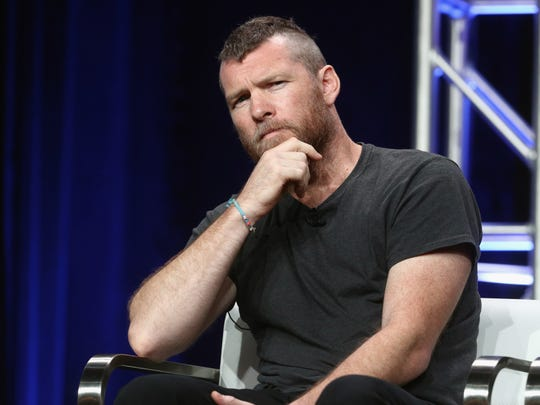 Sam Worthington, who plays a criminal profiler in Discovery