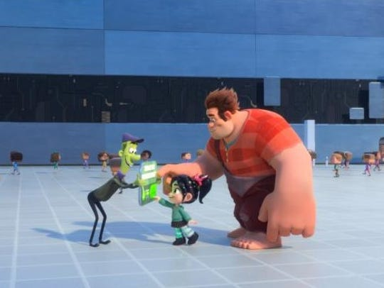 "Ralph and Vanellope return in ""Ralph Breaks the Internet."""