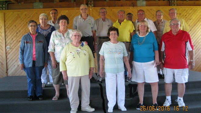 The Spencer High School Class of 1956 held its 60-year reunion June 25 and 26.