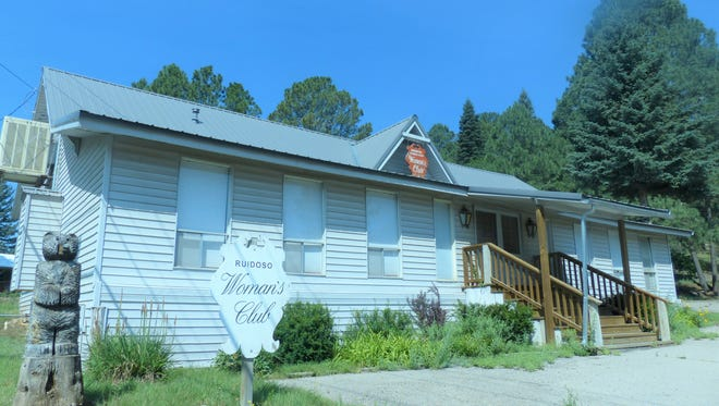 The Ruidoso Federated Woman's Club's clubhouse is on Evergreen Street.