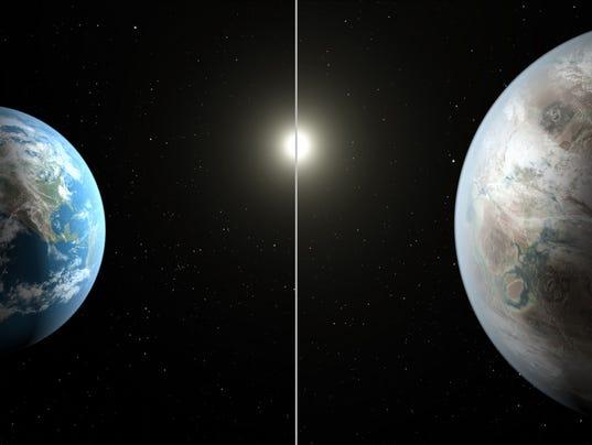 Kepler spavecraft finds earth twin