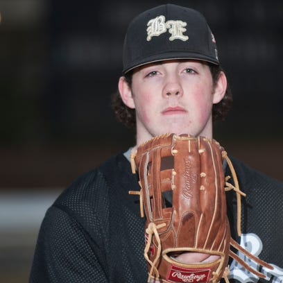 Bishop Eustace senior Nick Browne led South Jersey in home runs last year with 11. Browne draws strength from the memory of his father, Gerry, who died in 2012 at age 56 from complications of sleep apnea.