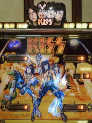 This is the third KISS-themed pinball machine that