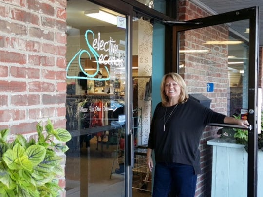 Vena Holden, owner of Selective Seconds in Greenwood,