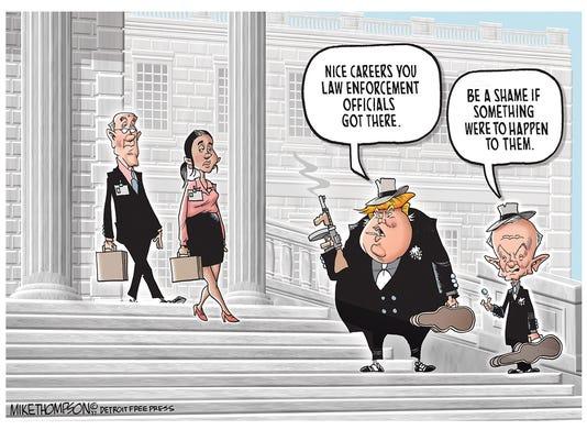 Trump cans Comey