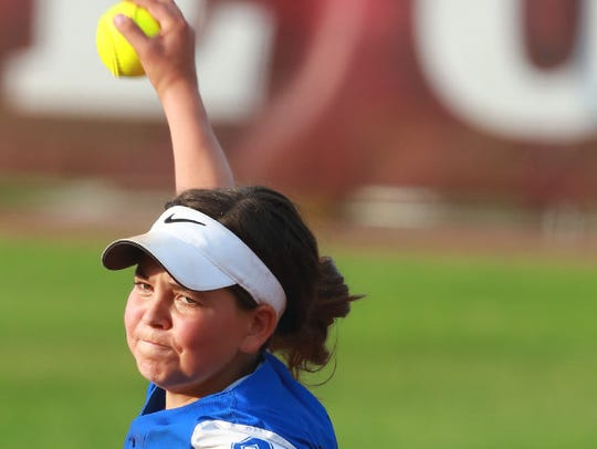 Pitcher Becca Oleniczak helped Oak Creek reach the