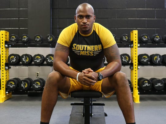 Southern Miss' Allen Fails was recently awarded a scholarship