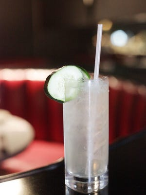 The Cucumber Smash at Village Grille is a popular springtime drink and a variation from the classics the restaurant is known for.