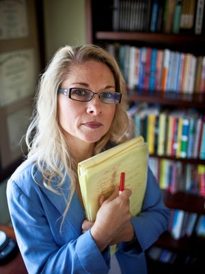 Rebecca Friedrichs, an Orange County, Calif., school teacher, is the lead plaintiff in the case challenging unions' collection of fees from those who choose not to join.