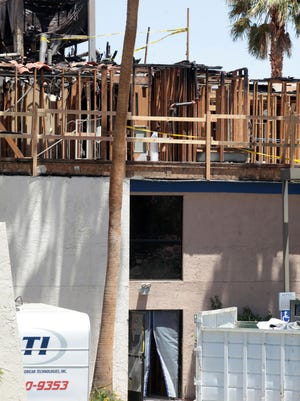 The Marriott Fairfield Inn in Palm Desert has been closed since a fire broke out in April 2014.