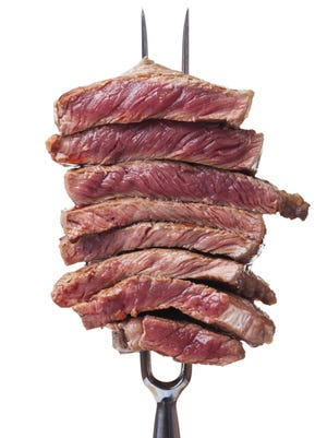 Eating small amounts of meat on a regular basis increases the risk of colon cancer by 18 percent.