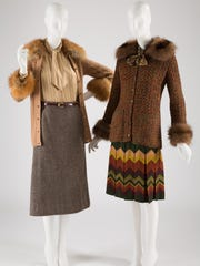 Yves Saint Laurent designed both of these items: A