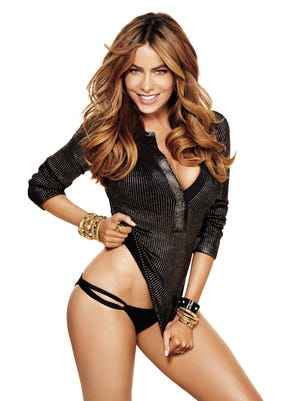 EDITORS' NOTE: THIS IMAGE IS EMBARGOED FROM ONLINE USAGE UNTIL 10/8/14 at 4pm.   Sofia Vergara is featured on the November 2014 edition of Shape Magazine.  HANDOUT Photo by Marc Baptiste [Via MerlinFTP Drop]