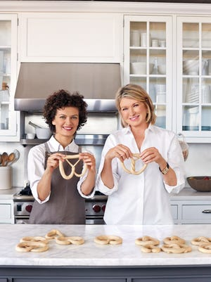 Lina Kulchinsky of Sigmund's Pretzels, in New York City, shared her recipe and techniques with me. The dough is easy to work into the classic pretzel shapes.