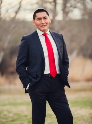 State Sen. Carlyle Begay, R-Ganado, is jumping into the race for the 1st Congressional District. He would become the country's first Navajo congressman if he won.