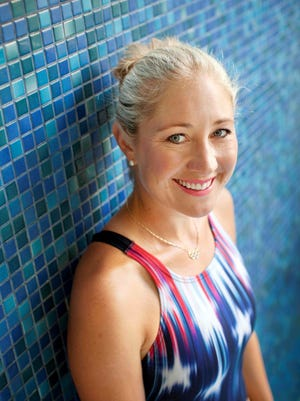 Olympic gold medal swimmer Misty Hyman will offer a talk and coaching clinics in Ruidoso Friday through Sunday.